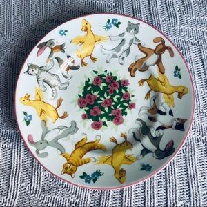 Tiffany & Co. Tiffany playground child's plate